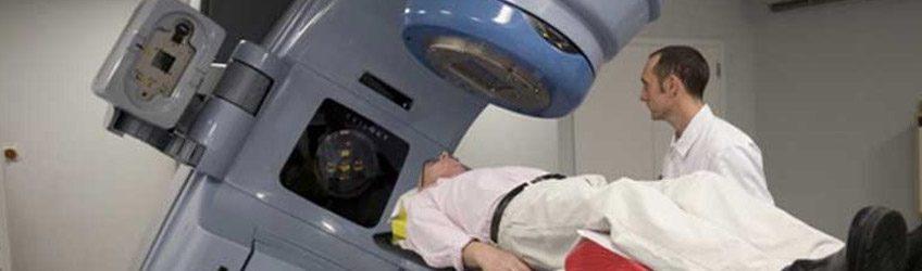 Beneficios de la radioterapia en corto tiempo.